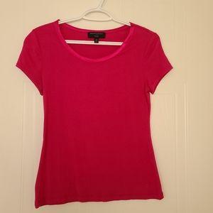 Banana Republic Luxe Touch Pink Tshirt. XS.